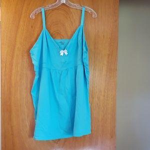 Women's Light Blue Sleep Shirt